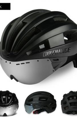 Coolchange helmet-glasses matt black