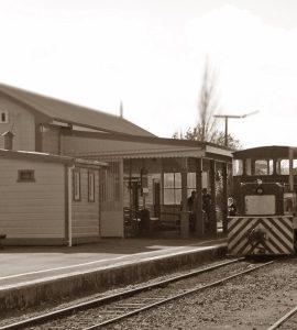 Waihi Railway station